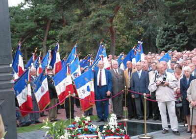 Inauguration du Mémorial